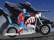 Captain America Harley Ride