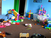 Kids Messy Room Objects