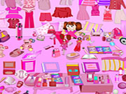 Pink Living Room Objects